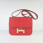 Hermes 2011 new style Constance Bag Available H017 red