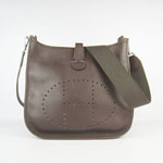Hermes Evelyne Bag 6309 Dark brown