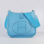 Hermes Evelyne Bag Blue 6309