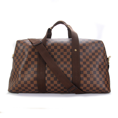 Louis Vuitton Damier Ebene Canvas Weekender Beaubourg GM N40477