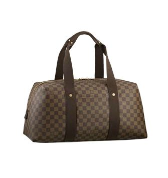 Louis Vuitton Damier Ebene Canvas Weekender Beaubourg MM N41138