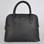Hermes Bolide Togo Leather Tote Bag 1037 Black