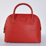 Hermes Bolide Togo Leather Tote Bag 1031 Red