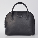 Hermes Bolide Togo Leather Tote Bag 1031 Black
