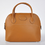 Hermes Bolide Togo Leather Tote Bag 1031 brown