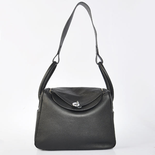 Hermes togo leather lindy bag Lindy30CM black
