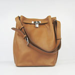 Hermes togo leather so kelly 22 (Light coffee) H2804