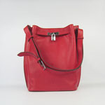 Hermes togo leather so kelly 22 (red) H2804