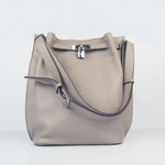 Hermes togo leather so kelly 22 (grey) H2804
