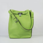 Hermes togo leather so kelly 22 (green) H2804