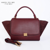 2013 Celine handbag  008B jujube red