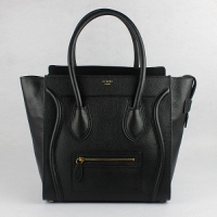 Hot 2013 celine luggge tote handbag 88022 black