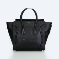 2013 Celine Boston Smile Tote Handbag 98169 black