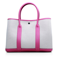 2013 Hermes garden party A1288 white&rose red