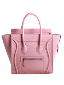 2013 Celine luggge tote original leather 3308 pink