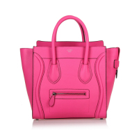 Hot 2013 celine luggge tote handbag 88022 fluorescent powder