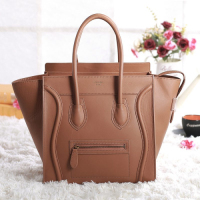 2013 Celine luggge tote original leather 3308 soil yellow