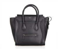 Hot 2013 celine luggge tote handbag 88022 fluorescent black