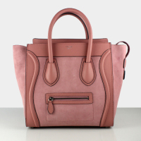 Hot 2013 celine luggge tote handbag 88022 pink purple