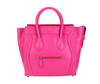 2013 celine luggge tote handbag 88022 rose red