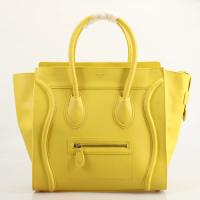 2013 Celine boston smile tote handbag 98169 yellow