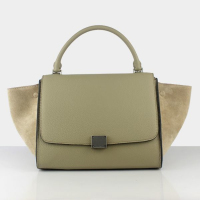 2013 celine trapeze tote bag 88037 milk tea