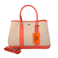 2013 Hermes 30CM A1288 rice white&watermelon red