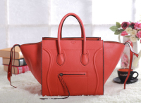 2013 Celine luggage phantom square original leather bag 3341 orange