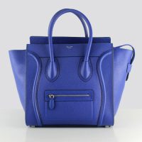 Hot 2013 celine luggge tote handbag 88022 blue