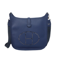 2014 Hermes Evelyne Bag A148 dark blue