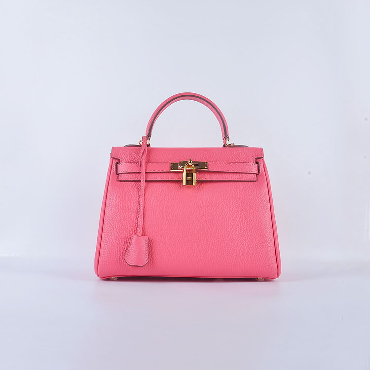 Hermes Kelly 28cm togo Leather 6608 light pink Gold Buckle