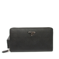 Prada calf Leather Wallet 1M1188 black