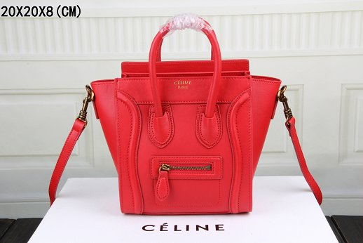 2015 Celine classic 3308 red