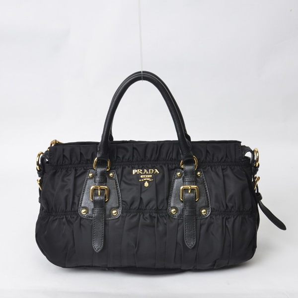 2015 Prada fashion new model BN1407 black
