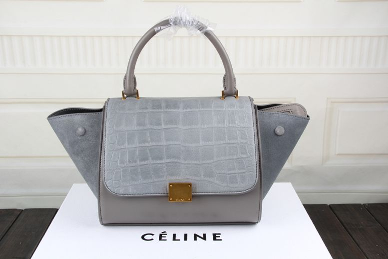 2015 Ceilne hot style crocodile 3345 gray