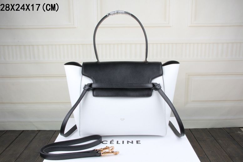 2015 Celine new model belt pack 3368-1 black&white