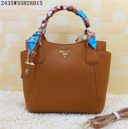bcfcbb462b 2015 Prada new models shopping bag 2435 naturals