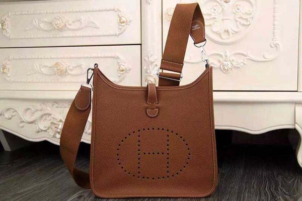 Hermes evelyne hot style original leather H1188 naturals