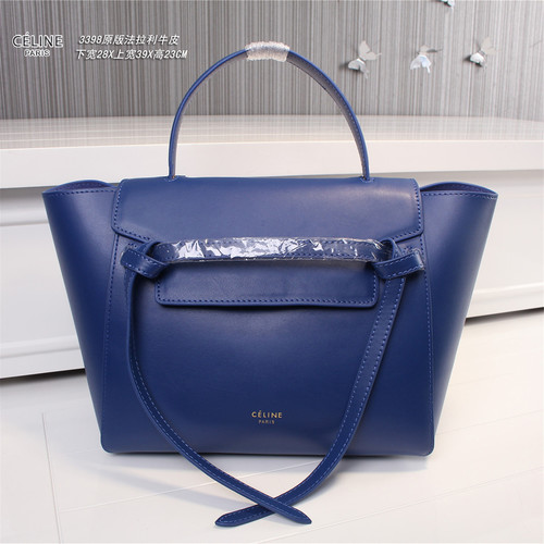 Celine belt bag original leather 3398 blue