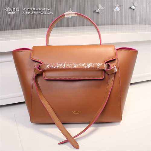 Celine belt bag original leather 3398 coffee