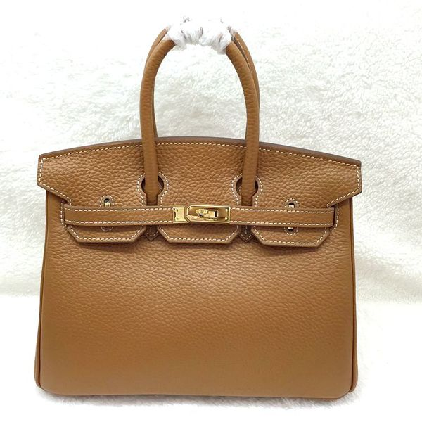 Hermes Birkin 25CM Tote Bag Original Leather H25 Naturals
