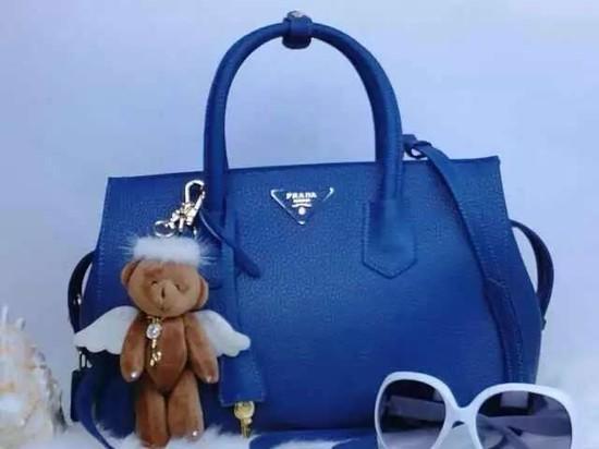 a757a8c3d5 2015 Prada tote bag 2278 Black -  208.00