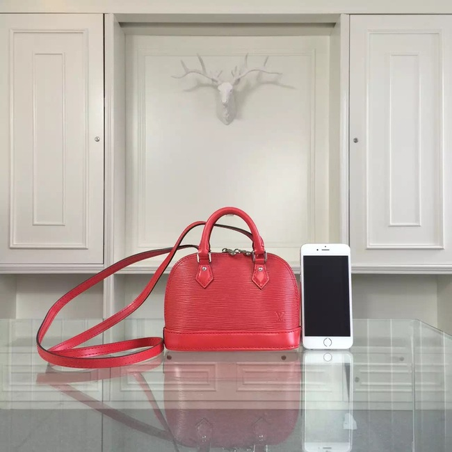 Louis Vuitton epi leather mini tote bag 50516 red