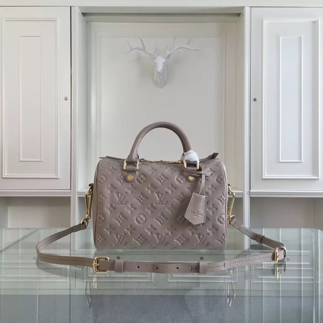 Louis Vuitton Monogram Empreinte 25CM Tote Bag M91337 Grey
