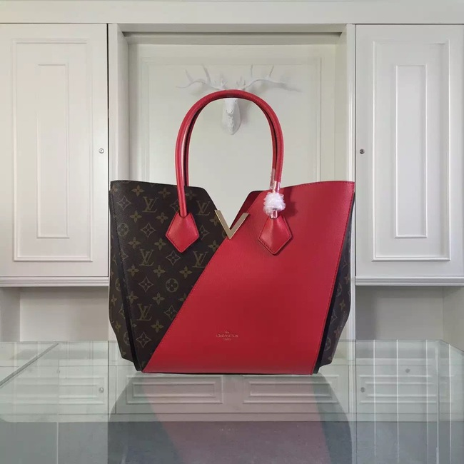Louis Vuitton Monogram Canvas KIMONO Tote Bag 40460 Red