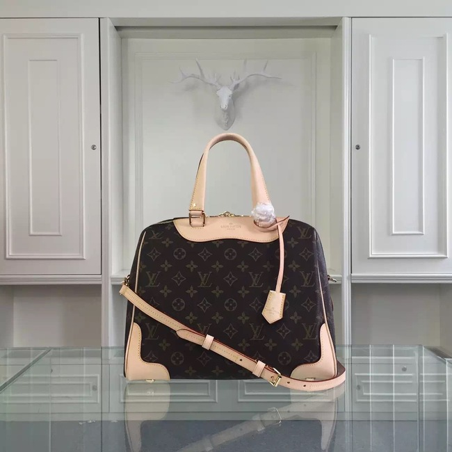 Louis Vuitton Monogram Canvas Retiro NM M50057 Beige