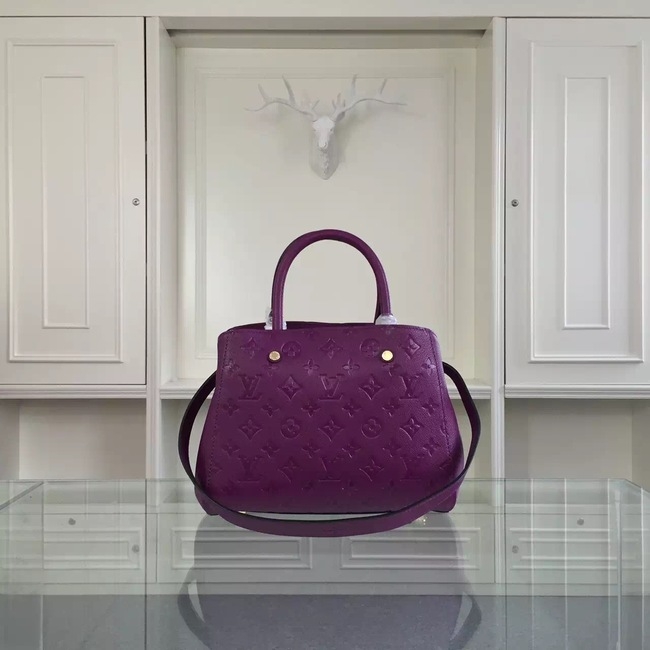 Louis Vuitton Monogram Empreinte Original leather 41061 Purple