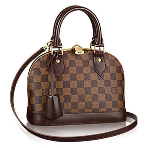 Louis Vuitton Damier Ebene Canvas ALMA BB M41221 Coffee