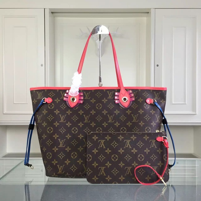 Louis Vuitton Monogram Canvas NEVERFULL MM 41663 rose