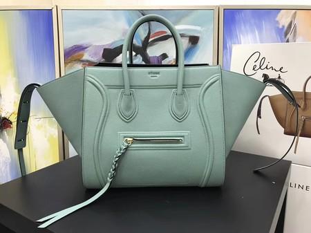 f21c88bea0 Celine LUGGAGE PHANTOM Tote Bag A3372 Light green